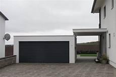 garage neben haus fertigcarport in kombination mit garage ott garagen