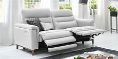 ledersofa 3 sitzer 3 sitzer sofa ledersofa elektrisch verstellbar madrid