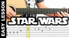 how to play wars theme on guitar easy lesson with tabs