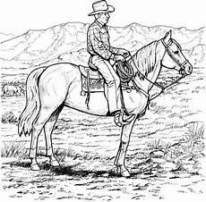 Ausmalbilder Pferde Western Pin Auf Indian Color