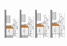 hauteur plan travail cuisine enchanteur hauteur plan de travail avec ergonomie dans la