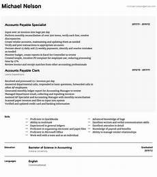 accounts payable resume sles all experience levels resume com resume com
