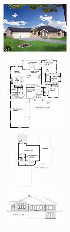 house plans walkout basement hillside 54 best hillside home plans images hillside house house
