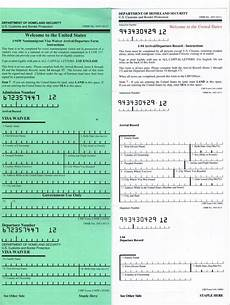 i 94 form usa should i have an i 94 in my passport rapidvisa 174
