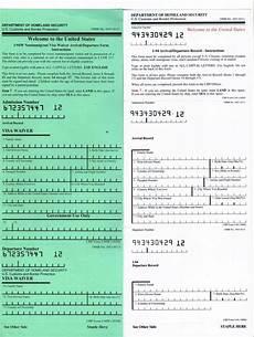 immigration form i 94 should i have an i 94 in my passport rapidvisa 174