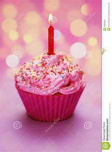 Happy Birthday Cupcake Stock Image Image Of Multicolored