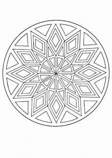 mandala with a diamond pattern mandalas for advanced