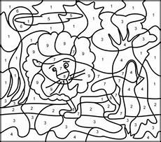 color by number animal worksheets 16069 coloring page printables apps for