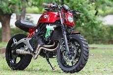 Kawasaki Er6n Modifikasi by Cara Modifikasi Kawasaki Er6n Konsep Scrambler 1