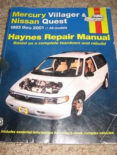 free auto repair manuals 1993 mercury villager electronic toll collection find haynes mercury villager nissan quest repair manual 1993 2001 1994 1995 1996 motorcycle in