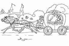 ausmalbilder pferde mit kutsche