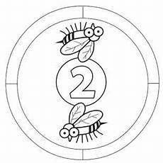 Mandala Malvorlagen Mit Zahlen Preschool Numbers Panosundaki Pin