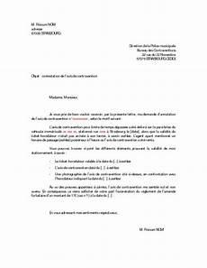 lettre de contestation d amende modele lettre de contestation amende forfaitaire majoree