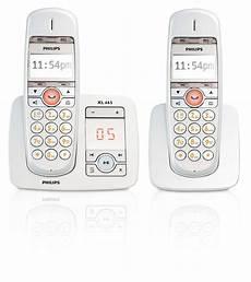 Xl T 233 L 233 Phone Fixe Sans Fil Avec R 233 Pondeur Xl6652c 38 Philips