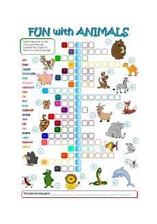 useful animals worksheets 14070 with animals b w key included esl worksheet by mada 1