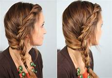 subtle twist into side braid cute hairstyles