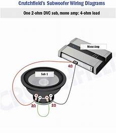 2 Ohm Dvc 12 Quot Subwoofer Wiring Diagram by How To Hook Up Replacement Sub Speaker Avs Forum Home