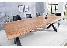 Tables En Bois Massif Table 224 Manger Design X De 240cm