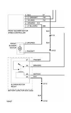 2004 chevrolet trailblazer hvac diagram questions with pictures fixya