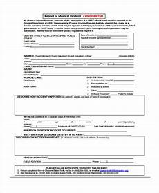 free 41 sle incident report forms in pdf pages excel ms word