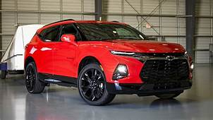 2019 Chevrolet Blazer First Drive Review A Crossover