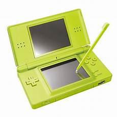 jeux ds lite nintendo ds lite console de jeu portable vert pas cher