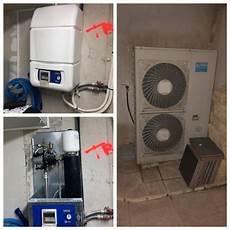 pompe a chaleur air eau plancher chauffant pompe 224 chaleur aj tech air eau pour plancher chauffant et