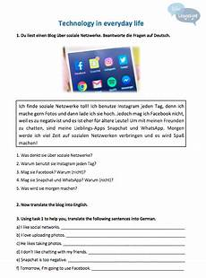 free german worksheets ks3 19670 key stage 3 german technology and free time new gcse style questions kate languages