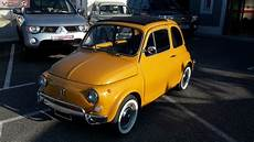 vente fiat 500l de 1971 jaune matching number vdr84