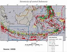 Peta Kota Kenapa Indonesia Rawan Bencana
