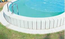 Luftkammerfolie F 252 R Stahlwand Schwimmbecken Rund