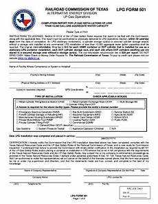 railroad commission of texas form 501 instructions fill online printable fillable blank
