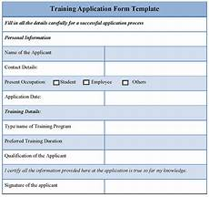 training course application form template application form template for training template of