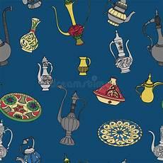 arabische muster malvorlagen englisch vektorsatz arabische tonware orientalische tonwaren