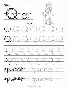 letter tracing worksheets q 23275 free printable tracing letter q worksheet with images letter tracing printables tracing