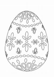 Malvorlage Osterei Blanko Ausmalbilder Ostern Osterhase Ostereier Kinder Malvorlagen