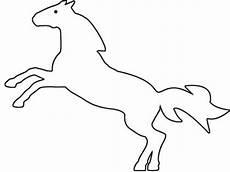 Malvorlage Steigendes Pferd Wildes Pferd Malvorlage Kostenloses Ausmalbild