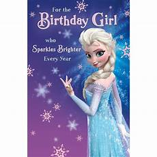 Malvorlagen Frozen Happy Birthday Birthday Disney Frozen Elsa Birthday Card 418995 0 1