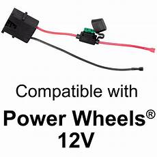 lite battery wire harness wire harness connector for fisher price 174 power wheels 174 12 volt sla battery 852512002375 ebay