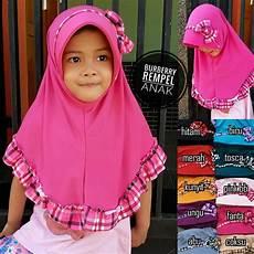 Jilbab Burberry Rempel Anak Sentral Grosir Jilbab I