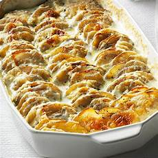 super simple scalloped potatoes recipe taste of home
