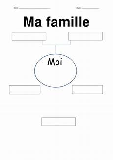 worksheets la famille 18941 ma famille by helenemorris1 teaching resources tes