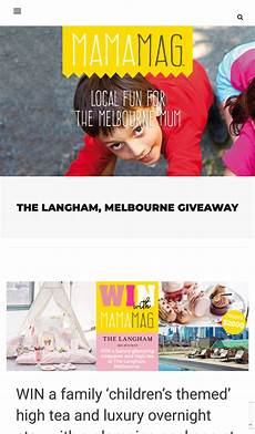 mamamag win a family children s themed high tea and
