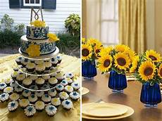 inspirations for blue and yellow wedding colors yellow wedding colors blue yellow weddings
