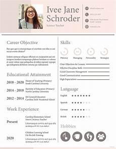 free fresher school teacher resume format teacher resume template resume format teaching
