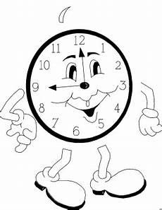 Lustige Uhren Ausmalbilder Uhr Mit Gesicht Malvorlage 242 Malvorlage Uhr Ausmalbilder