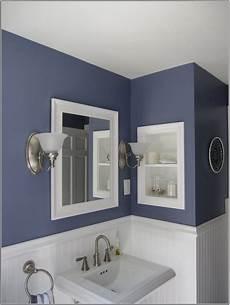 salle de bain bleu gris gris et bleu deux couleurs en osmose dans la salle de