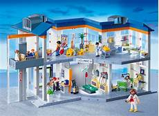 Playmobil Ausmalbild Krankenhaus Playmobil 4404 Gro 223 Es Krankenhaus Mit Einrichtung Zubeh 214 R