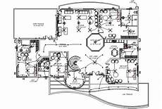 electrical installation plan for home office autocad