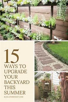 Upgrading Your Backyard